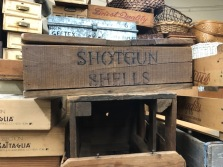 SHOTGUN SHELL WOOD BOX