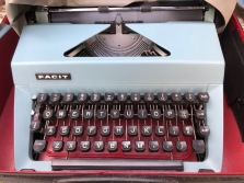 SWEEDISH TYPEWRITER