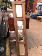 TALL ANTIQUE MIRROR