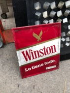 WINDSTON CIGARETTE SIGN