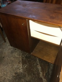 AMERICAN OF MARTINSVILLE CREDENZA INSIDE