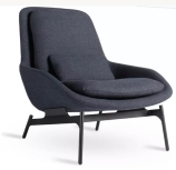 BLUE DOT WOMB CHAIR