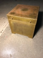 BRASS TRUNK MADE IN SPAIN