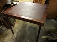 FOLDING CARD TABLE