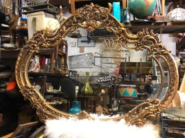 GIANT ORNATE MIRROR