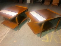 MID CENTURY LANE SIDE TABLES