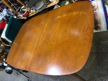 MID CENTURY WOOD DINING TABLE 2