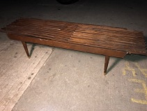 WOOD SLAT TABLE