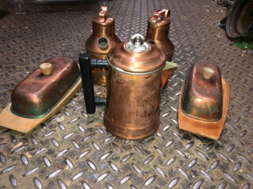 COPPER COFFEE ITEMS