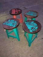 WORLD MARKET STOOLS