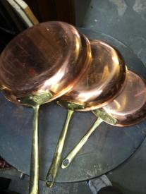 copral copper pans