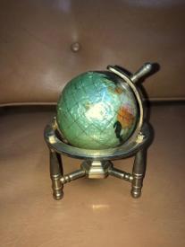 gem stone globe