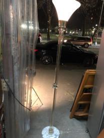 lucite floor lamp