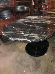 marble table 68x40 2