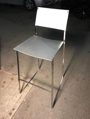 metal designer stool
