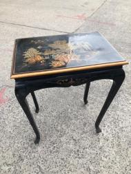 oriental side table