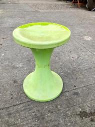 vintage plastic stand