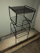 vintge metal rack