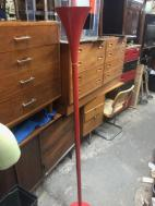 MID CENTURY TORCH FLOOR LAMP