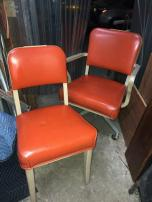 ORANGE CHAIRS