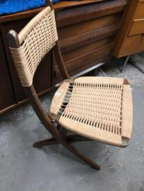 RUSH FOLDING CHAIR