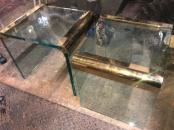 WATERFALL GLASS TABLES