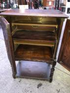 ANTIQUE CABINET INSIDE
