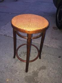 CANE BAR STOOL