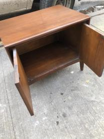 MID CENTURY RECORD CABINET 2