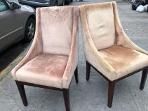 SAFAVEYA VELVET CHAIRS