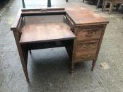 ANTIQUE CONVERTIBLE WOOD DESK