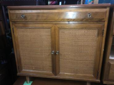 CANE FRONT CREDENZA