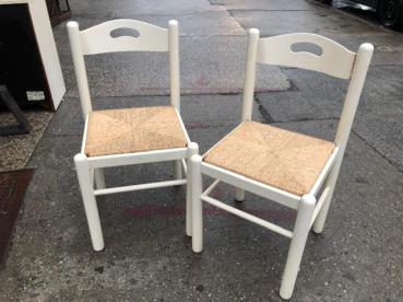 ITALIAN RUSH CHAIRS
