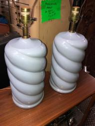 POWDER BLUE LAMPS