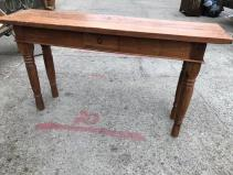 SOLID WOOD WORK TABLE
