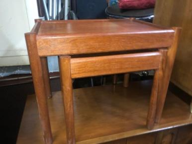 TEAK SMALL TABLES