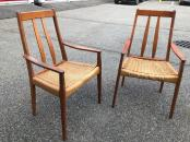 DANISH CANE CHAIRS
