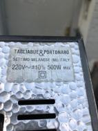 ITALIAN FLOOR LAMP TAGLIABUE PORTONARO