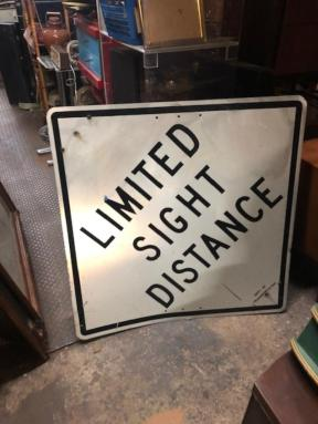LIMITED SIGHT SIGN