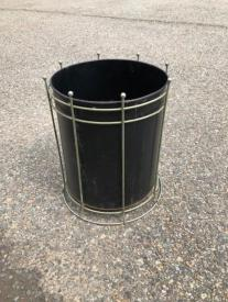 MID CENTURY GARBAGE CAN