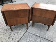 MID CENTURY SIDE TABLES
