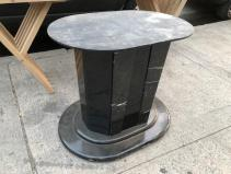 FAUX MARBLE TABLE BASE