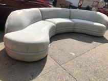 KAGAN SERPENTINE COUCH