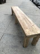 LONG WOOD BENCH