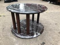 MARBLE 2 TIER TABLE