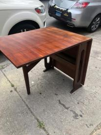 MID CENTURY DROP LEAF TABLE 2