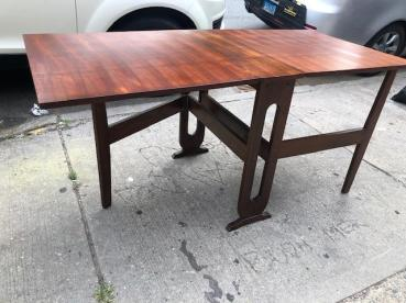 MID CENTURY DROP LEAF TABLE 3