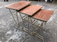 MID CENTURY NESTING TABLES