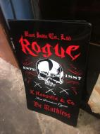 ROGUE METAL SIGN