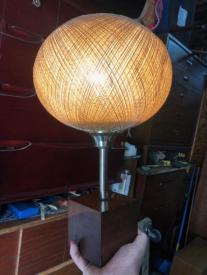 SPUN FIBERGLASS LAMP 2